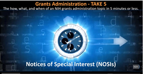 Screenshot of YouTube video on NOSIs